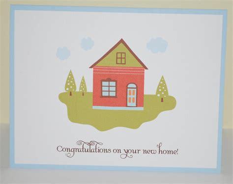 congratulations  home card