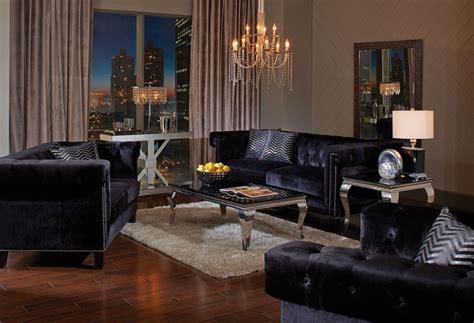 black living room set reventlow black living room set from coaster coleman