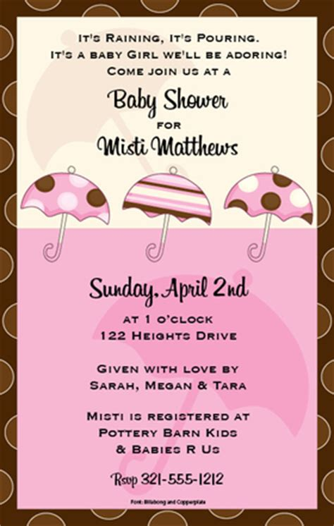 Baby Shower Only For Born by Babies Children Baby Shower Invitations Baby Shower
