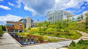 center for sustainable landscapes one of the greenest buildings museums and gardens in the