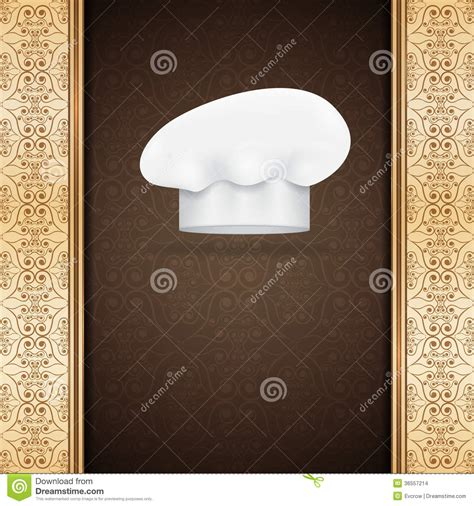 safefare chef card template german menu template stock images image 36557214
