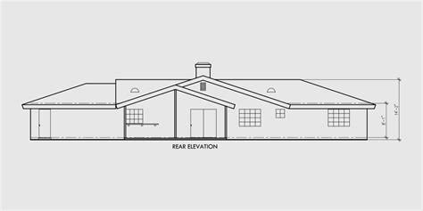 single level ranch house plans single level house plans ranch house plans 4 bedroom