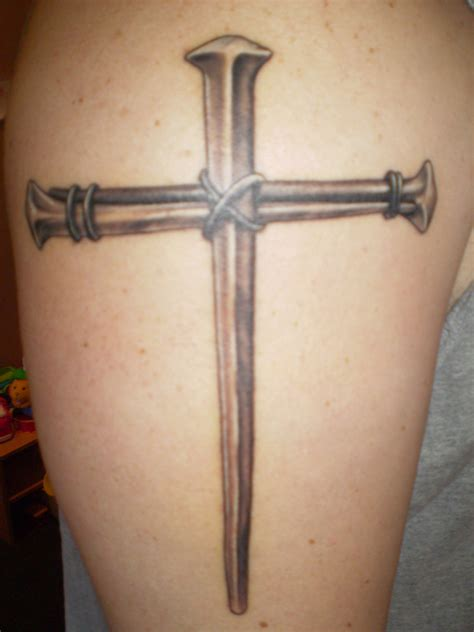 cross nail tattoo cross tattoos designs ideas and meaning tattoos for you