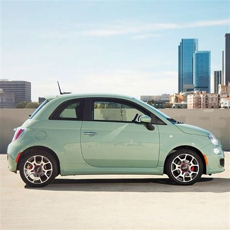 Fiat Green by Fiat500 And The New Color Of Lattementa Green