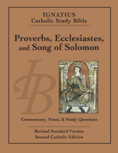 libro song of solomon a exodus revised standard edition catholic edition studi ed esegesi biblica panorama auto