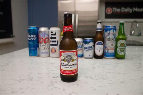 top 5 light beers ranking america s 10 best selling beers what tastes best