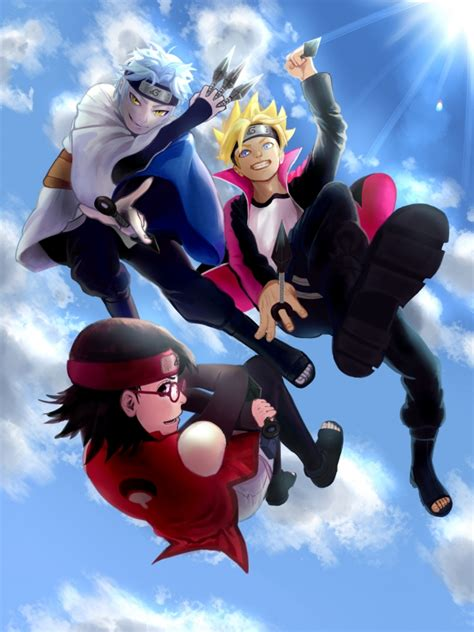 wallpaper boruto for android wallpaper boruto mitsuki uchiha sarada naruto
