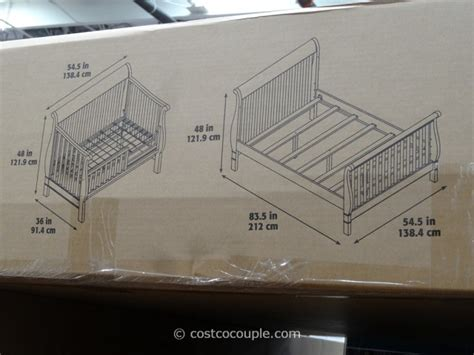 cafe kid jamison convertible    crib