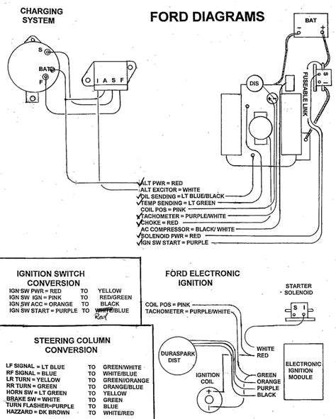 1968 ford alternator wiring diagram wiring diagram with