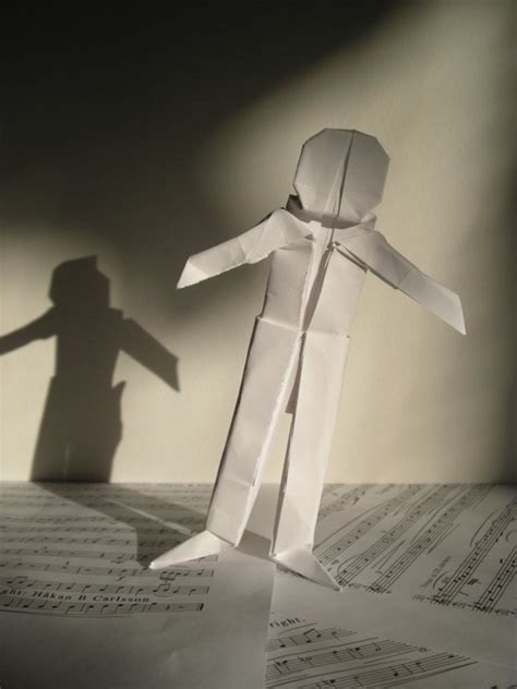 Person Origami - origami human by san on deviantart