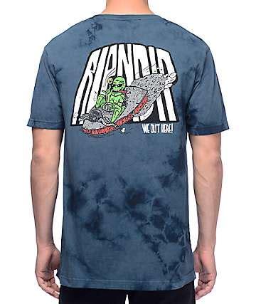 Exclusive Kaos T Shirt Ripndip Hang In There Army Green Recomended rip n dip t shirts zumiez