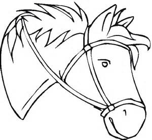 Horseheads colouring pages