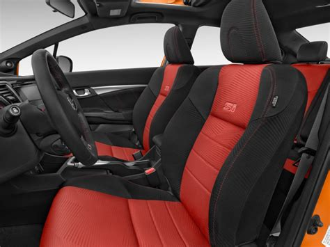 civic si seat image 2015 honda civic 4 door si front seats size