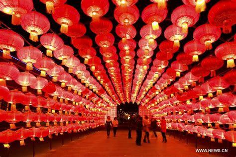 new year lantern day lantern festival celebrated across china china org cn