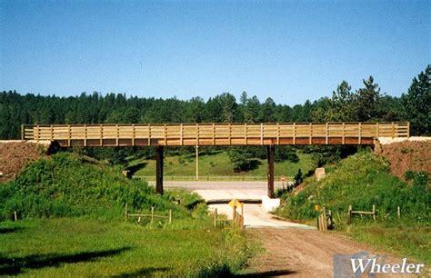 timber stringer recreation bridges wheeler