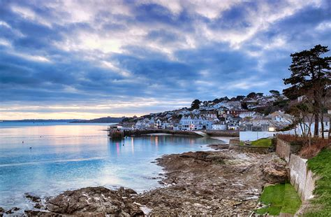 In St Mawes st mawes winter evening cornwall guide