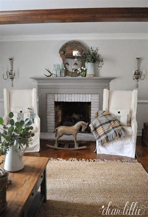 january family room  dear lillie house decor mantel