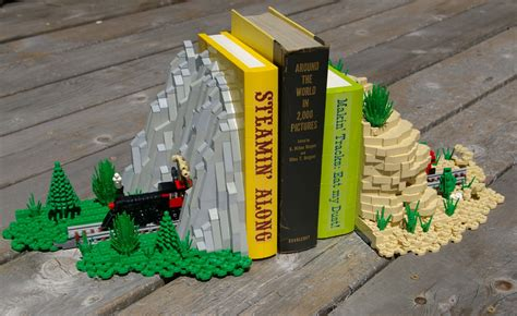 the green screen makerspace project book books lego bookends sport a microscale make