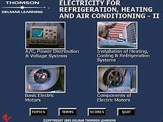 hvac skills electricity for refrigeration heating and a c ii