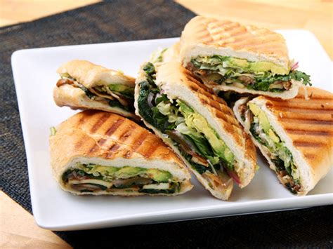 Pastel Vegetarian mexican and spinach sandwich vegan torta recipe serious eats