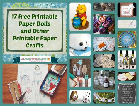 all free paper crafts 17 free printable paper dolls and other printable paper