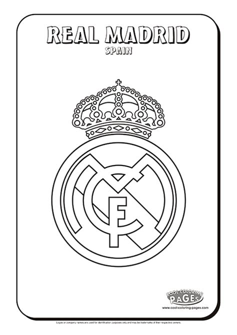 free coloring pages of madrid badge