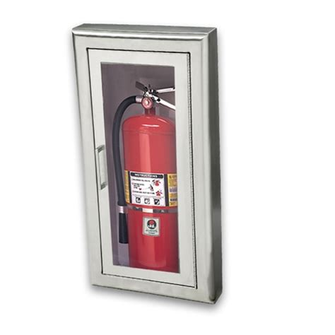 semi recessed fire extinguisher cabinet stainless steel jl cosmopolitan stainless steel 2037f10 semi recessed 20