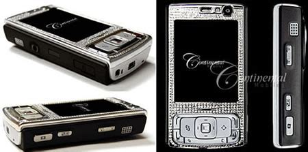 Nokia N95 Gets More Desirable With Diamonds by Nokia N95 Sparkles With Diamonds