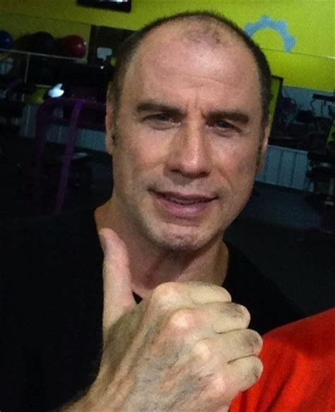 is imus bald or real hair is this john travolta s real hair