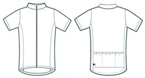 blank cycling jersey template aero tech designs semi custom sublimation product gallery