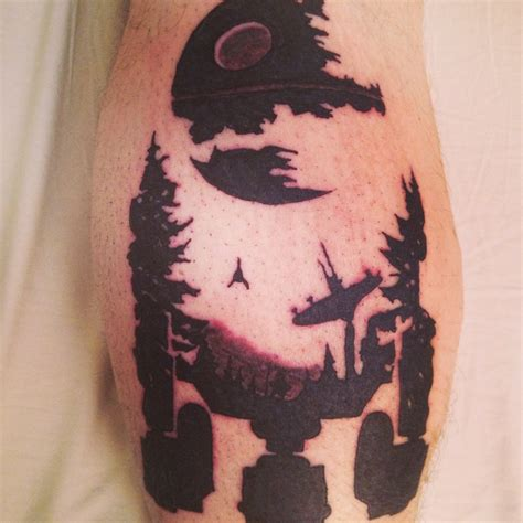 r2d2 tattoo wars tattoos awesome war and
