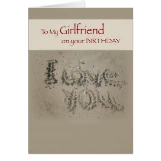 Things To Write On Girlfriends Birthday Card Girlfriend Birthday Cards Girlfriend Birthday Greeting