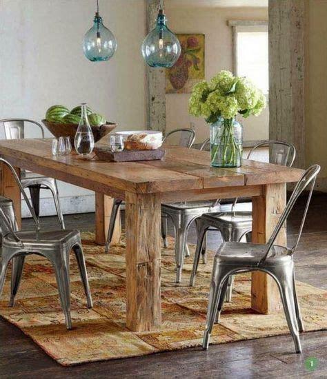 claves  crear  bonito comedor rustico mesa comedor