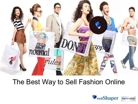the best way to sell fashion 2013 web shaper
