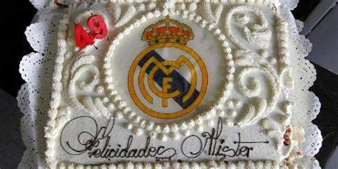 Kue Ultah Real Madrid jose mourinho kue ultah mourinho dari skuad real madrid