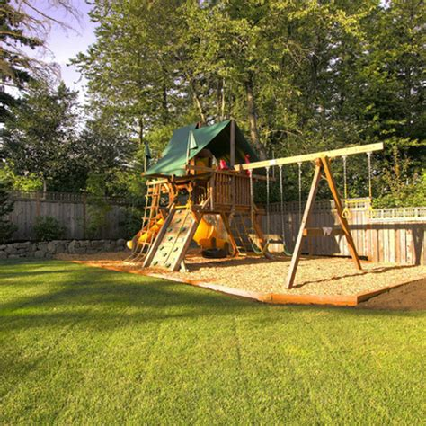 backyard play area landscaping build a play garden for kids home design ideas and photos