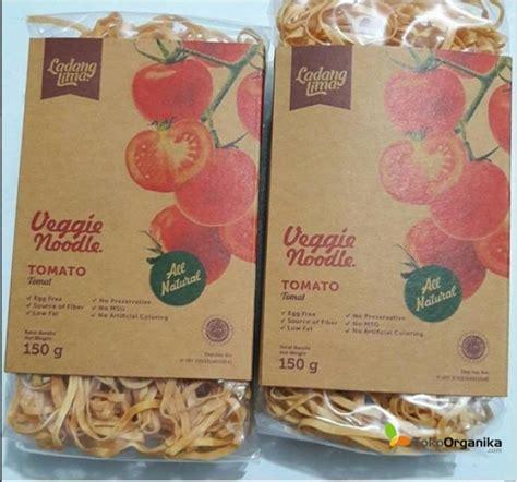 detil produk mie sayur tomat 150gr