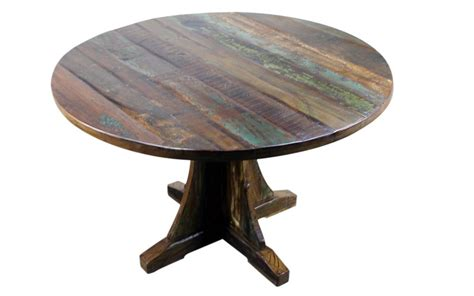 mexicali rustic wood dining table 48 mexican
