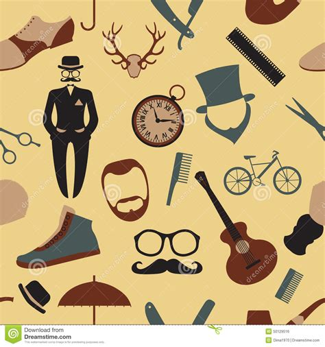 Hairstyles Tools Wallpaper by Vintage Barber Hairstyle And Gentlemen Background