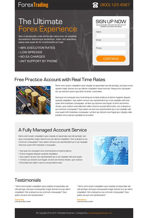 stron biz lead capture page templates free