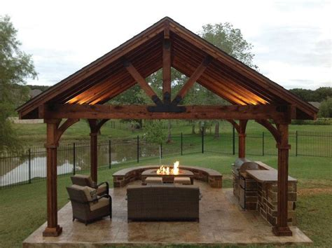 pavilion designs and plans this beautiful yet rustic freestanding post and beam