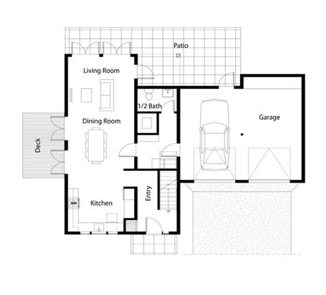 simple to build house plans home design and style