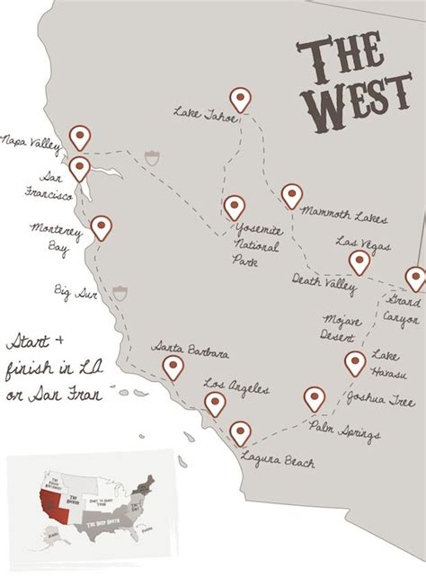 map of best us road trip the 25 best road trip usa ideas on road trip