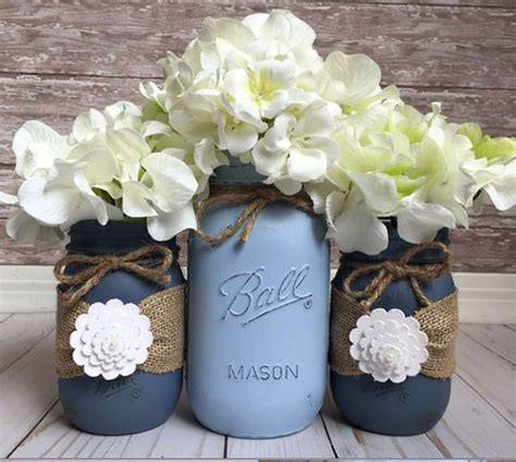 35 mason jar flower arrangements diy ideas tutorials
