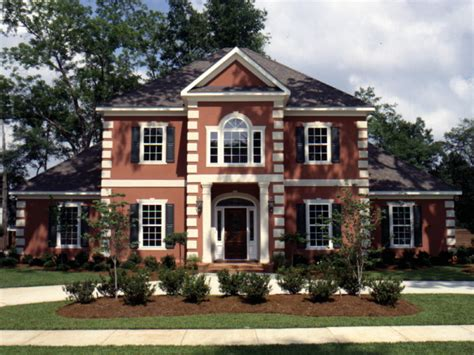 luxury colonial house plans whitemire luxury colonial home plan 024d 0058 house