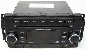 Dodge Ram Sirius Radio Problems 2009 2011 Dodge Ram 1500 Truck Factory Stereo Aux Mp3