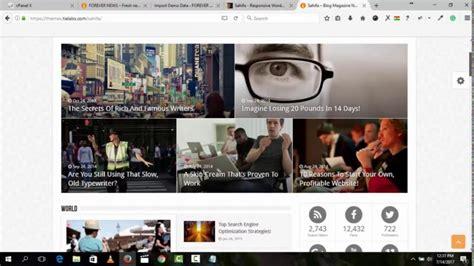 sahifa theme tutorial how to design a news and magazine website using sahifa theme