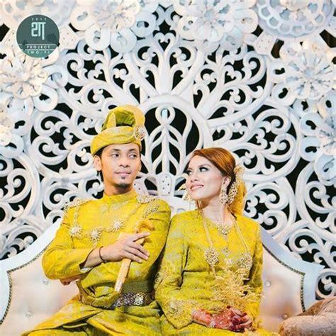 Baju Kahwin Jihan Muse gambar tema tradisional pilihan jihan di majlis resepsi