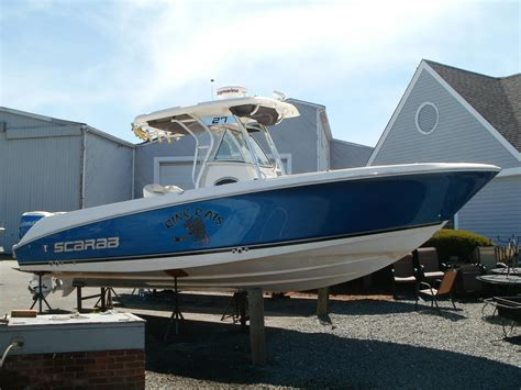 scarab boats history 2008 wellcraft 27 scarab tournament power boat for sale