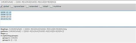 regex pattern date yyyy mm dd massive regular expressions toolbox